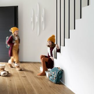 Natural French Ambre Oak Engineered Flooring 11mm x 130mm Lacquered