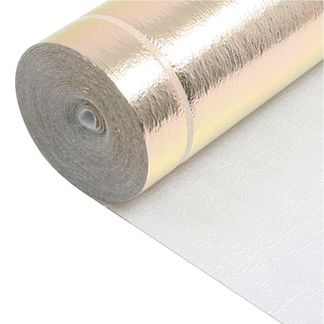 3mm Gold Underlay with Vapour Barrier 10m2